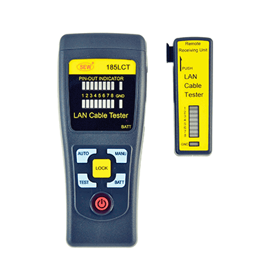 تستر کابل شبکه SEW 185 LCT LAN CABLE TESTER