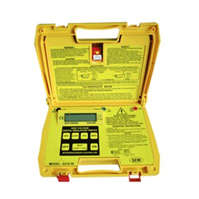 میگر 5000 ولت SEW 6210-IN Insulation tester