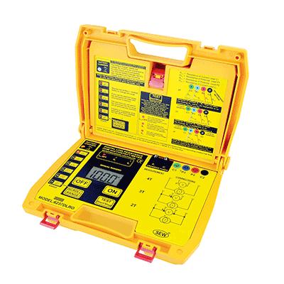میکرو اهم متر دیجیتال SEW-6237 DLRO Micro Ohmmeter