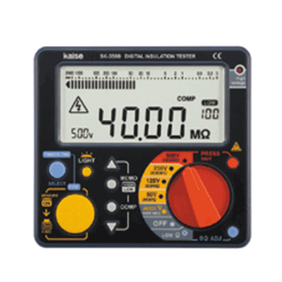 میگر دیجیتال 500 ولت Kaise SK 3500 Insulation tester