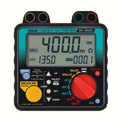 SK3800-MILLIOHM-METER