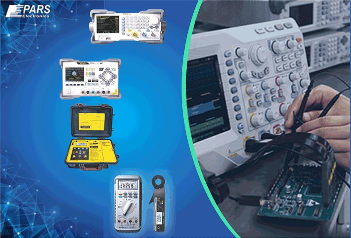 تجهیزات اندازه گیری برق و الکترونیک